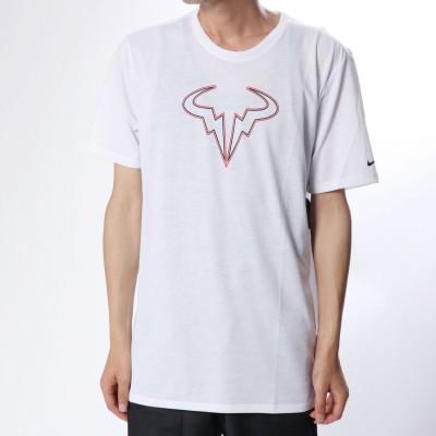 ナイキ NIKE メンズ テニス 半袖Tシャツ ナイキコート RAFA ドライ クルー Tシャツ 923995100 (ホワイト)