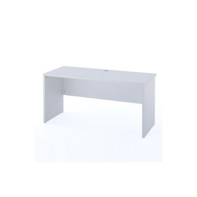 ノルムシリーズ木製オフィスデスクII W1400 ホワイト Z-RFPLD-1460W2 アール・エフ・ヤマカワ