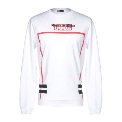 DOOA スウェットシャツ ホワイト M コットン 100% スウェットシャツ