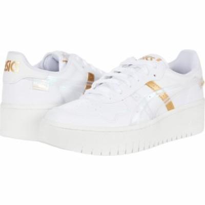アシックス ASICS Tiger レディース シューズ・靴 Japan S PF White/Pure Gold