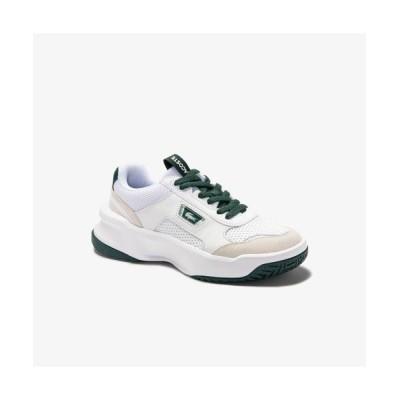 LACOSTE/ラコステ ウィメンズ ACE LIFT 0120 2 ホワイト×グリーン 36A(23.0cm)