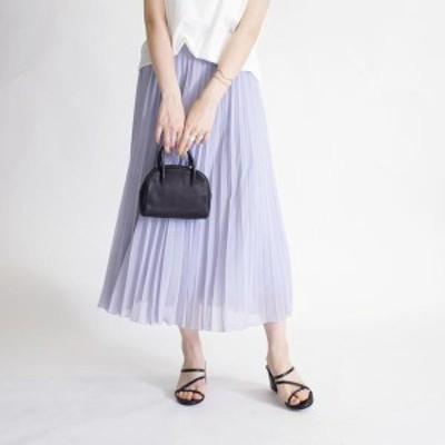シップス(レディース)(SHIPS for women)/シフォンプリーツスカート
