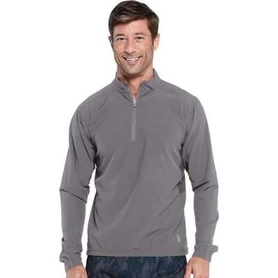 タスクパフォーマンス メンズ シャツ トップス Tasc Men's Air Flex Quarter Zip Jacket