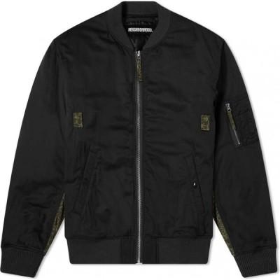 ネイバーフッド Neighborhood メンズ ブルゾン アウター MA-1 Jacket Black