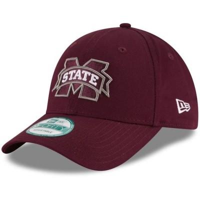 ユニセックス スポーツリーグ アメリカ大学スポーツ Mississippi State Bulldogs New Era The League 9FORTY Adjustable Hat - Maroon