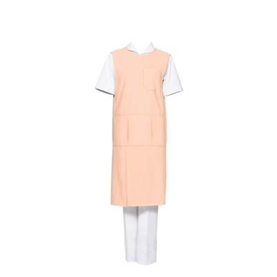 MONTBLANC 74-539 予防衣(ノースリーブ)(男女兼用) ナースウェア・白衣・介護ウェア