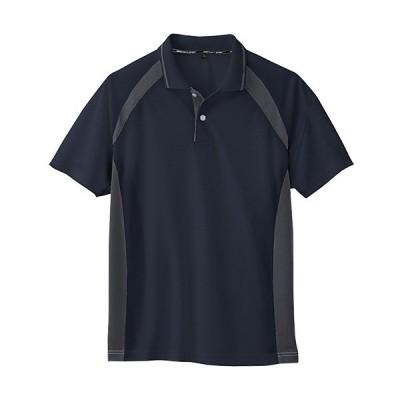 コーコス(CO-COS) ワークウェア 半袖ポロシャツ ネイビー AS-1627 NVY SS-LL 作業着 作業服 ワークウェア DIY ワーキングシャツ