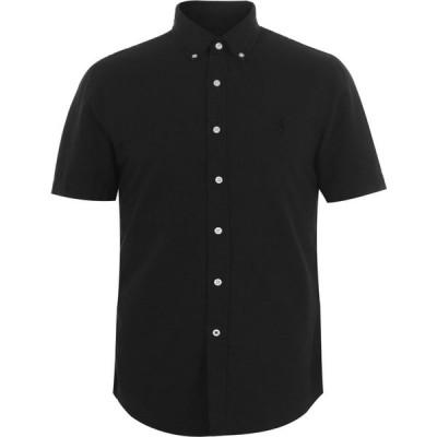 ラルフ ローレン Polo Ralph Lauren メンズ 半袖シャツ ワイシャツ トップス Short Sleeve Oxford Shirt Polo Black
