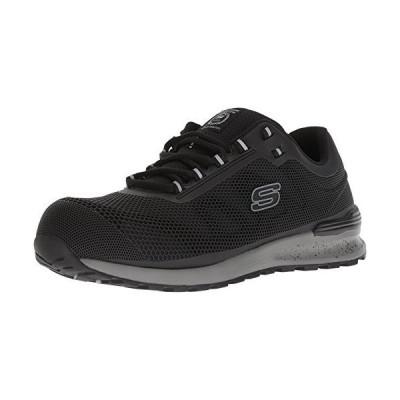 Skechers メンズ Bulkin インダストリアルシューズ US サイズ: 11 カラー: ブラック