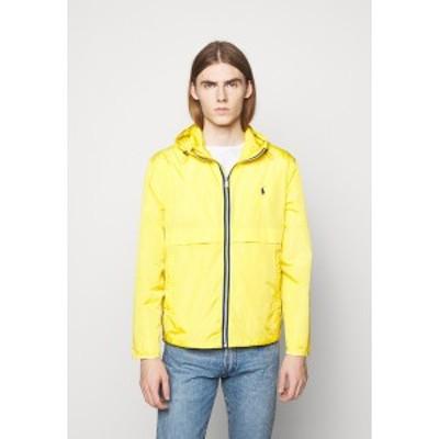 ラルフローレン メンズ ジャケット&ブルゾン アウター BELPORT HOODED - Summer jacket - signal yellow signal yellow