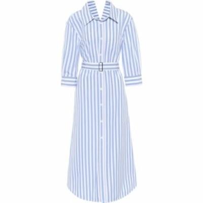 マルニ Marni レディース ワンピース シャツワンピース ワンピース・ドレス striped cotton poplin shirt dress Lake