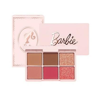 BarbieEGLIPS バービーイーグリップス カラーフィットアイシャドウ 6パレット バビーピンク