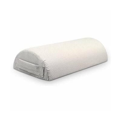 足置き クッション 足枕 低反発腰枕 足まくら 半円形 フットレスト 足置き 足むくみ対策 マッサージ枕 体圧分