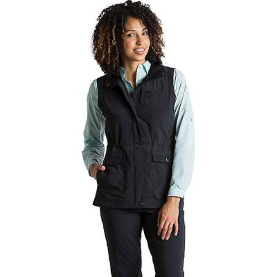 エクスオフィシオ ジャケット・ブルゾン レディース アウター ExOfficio Women's Sol Cool FlyQ Vest Black