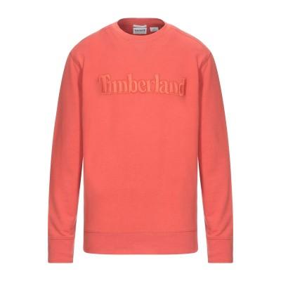 ティンバーランド TIMBERLAND スウェットシャツ オレンジ M コットン 100% スウェットシャツ