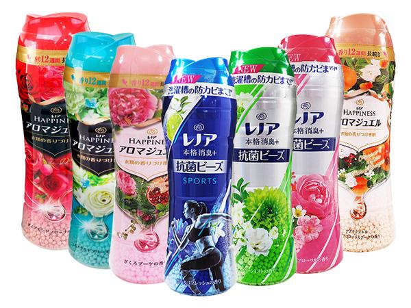 日本P&G~衣物芳香顆粒(香香粒) 520ml/490ml 多款可選【D381338】香香豆/衣物芳香豆/蘭諾LENOR