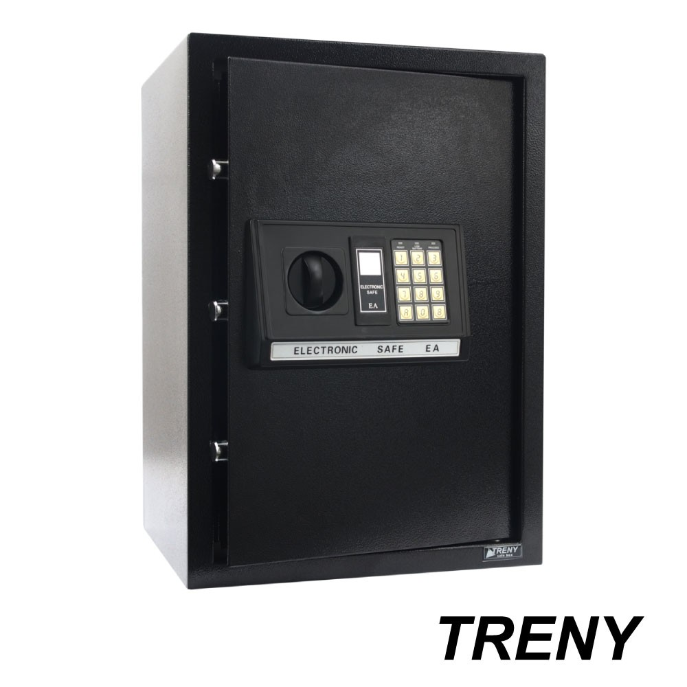 TRENY三鋼牙-電子式保險箱-大 4271