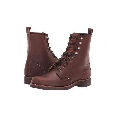 Red Wing Heritage レッドウィングヘリテイジ レディース 女性用 シューズ 靴 ブーツ レースアップブーツ Silversmith - Copper Rough & Tough