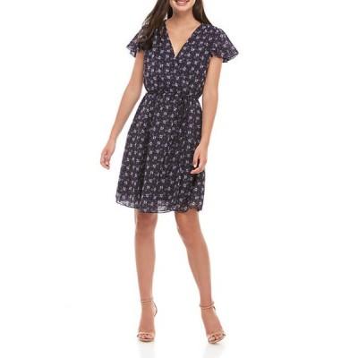 フレンチコネクション レディース ワンピース トップス Agata Georgette Print Dress