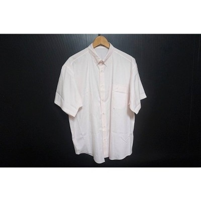 #spc パパス WALL GUY SHIRT PAPAS 半袖シャツ 52 ピンク メンズ [631004]