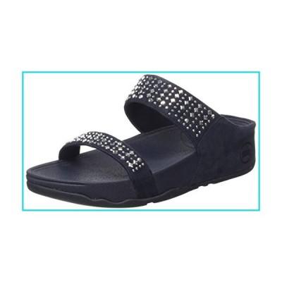 FitFlop Women's Novy Slide Sandal, Supernavy, 9 M US【並行輸入品】