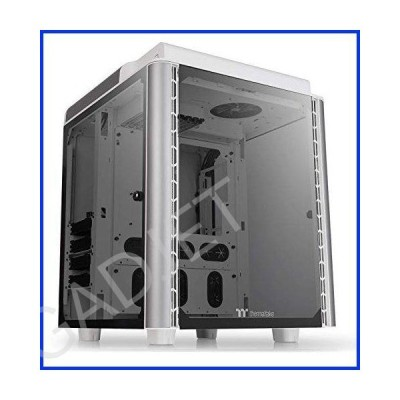 Thermaltake Level 20 HT Snow Edition 4 Tempered Glass Type-C Fully Modular E-ATX Full Tower Computer Chassis with 2 140mm Top Fan Pre-Installed CA-1P6
