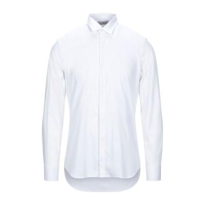 SSEINSE シャツ ホワイト S コットン 75% / ナイロン 22% / ポリウレタン 3% シャツ