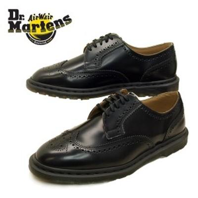 ドクターマーチン Dr.Martens Kelvin II 25026001 ケルヴィン II ブローグシューズ 黒 ウイングチップ ビジネス レディース/メンズ