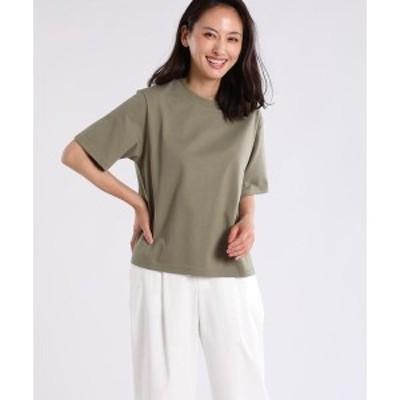 7ID concept.(7ID concept)/《大きいサイズ》ラウンドネックコットンTシャツ