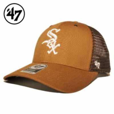 47ブランド カーハート コラボ メッシュキャップ スナップバック 帽子 メンズ レディース 47BRAND CARHARTT MLB シカゴ ホワイトソックス