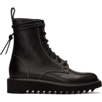 ジュゼッペ ザノッティ Giuseppe Zanotti メンズ ブーツ レースアップブーツ シューズ・靴 black lace-up boots