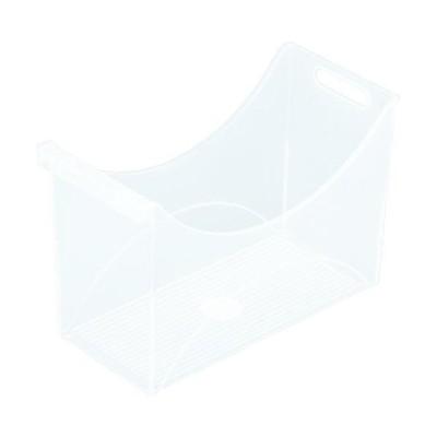 ■IRIS 227703 フォルダーボックス 340ワイド クリア【8186876:0】