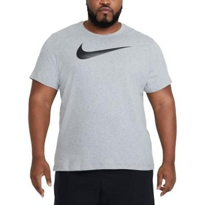 ナイキ メンズ Tシャツ トップス Men's Big & Tall Swoosh Dri-FIT Logo Graphic T-Shirt