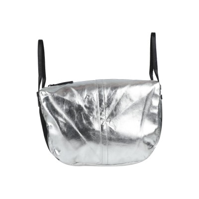 ディーゼル DIESEL ハンドバッグ シルバー ポリウレタン 100% ハンドバッグ