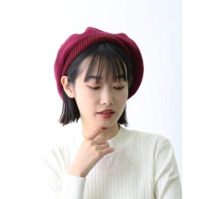 salle de bal / ▽ フェルトニットベレー帽 / FELT x KNIT BERET ・・ WOMEN 帽子 > ハンチング/ベレー帽