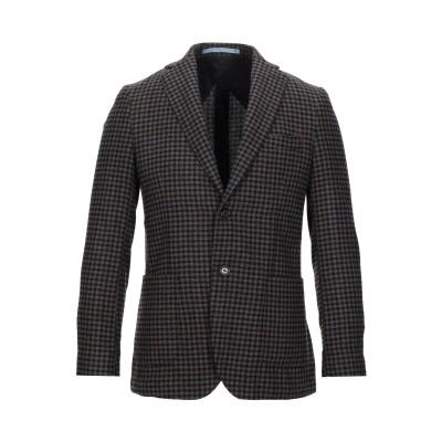 HERMAN & SONS テーラードジャケット ダークブラウン 46 ウール 60% / ポリエステル 35% / ナイロン 5% テーラードジャ