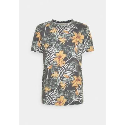 リディファイン レベル Tシャツ メンズ トップス RAUL TEE - Print T-shirt - black