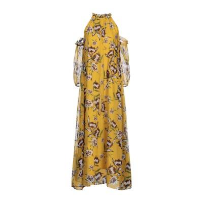 KORALLINE ロングワンピース&ドレス オークル 38 ポリエステル 100% ロングワンピース&ドレス