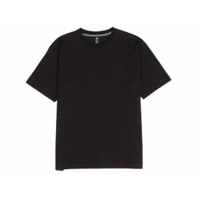 コンバース:【メンズ】クルーネック Tシャツ(胸ポケット付)【CONVERSE カジュアル 半袖 シャツ】