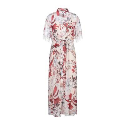 LE COEUR TWINSET 7分丈ワンピース・ドレス アイボリー XS ポリエステル 100% 7分丈ワンピース・ドレス