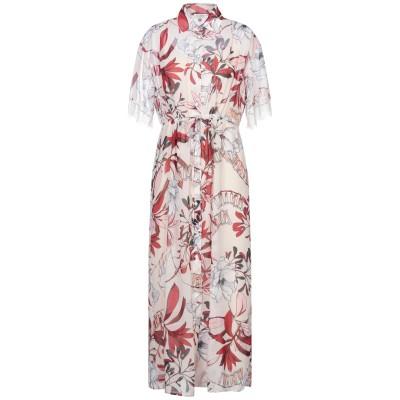 LE COEUR TWINSET 7分丈ワンピース・ドレス アイボリー S ポリエステル 100% 7分丈ワンピース・ドレス