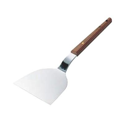 鉄板焼き用品 厨房用品 / 木柄起金 小 寸法: 65 x 178mm