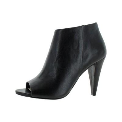 レディース 靴 コンフォートシューズ Vince Camuto Womens Azalea Zipper Cone-Heel Open-Toe Heels