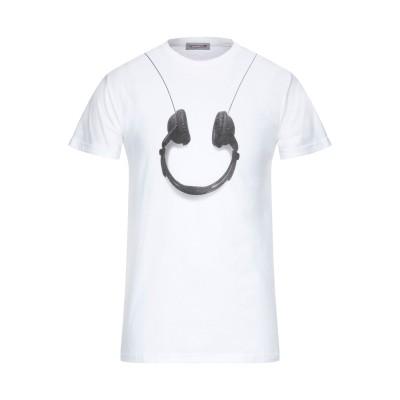 ダニエレ アレッサンドリーニ オム DANIELE ALESSANDRINI HOMME T シャツ ホワイト S コットン 100% T シャツ