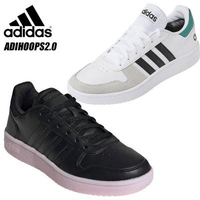 即納可☆【adidas】 アディダス アディフープス ADIHOOPS2.0 メンズ  ローカット スニーカーEE7799 EE7895