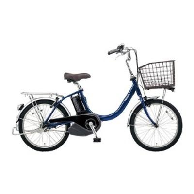 PANASONIC BE-ELL032-V ファインブルー ビビ・L・20 [電動アシスト自転車(20インチ・内装3段)]