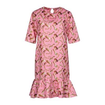 GIORGIA FIORE ミニワンピース&ドレス ピンク 40 ポリエステル 95% / ポリウレタン 5% ミニワンピース&ドレス