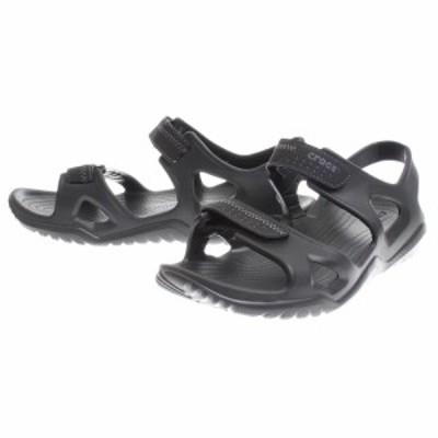 クロックス(crocs)サンダル swiftwater river sandal Blk 203965-060 オンライン価格…