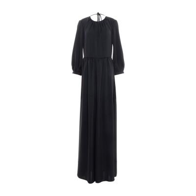 ブルーガール ブルマリン BLUGIRL BLUMARINE ロングワンピース&ドレス ブラック 42 ポリエステル 100% ロングワンピース&ド