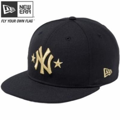 【新品】ニューエラ 950 スナップバック キャップ ニューヨーク ヤンキース ツースター ブラック メタリックゴールド New Era NewEra